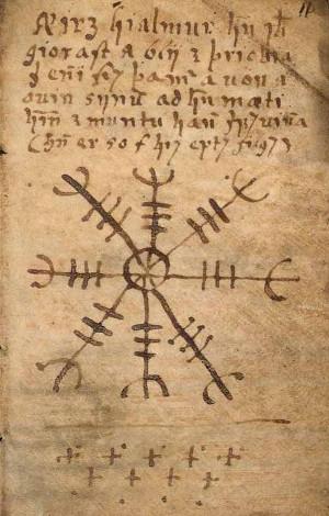 Aegishjalmur - Simbol Drevnih Vikinga - Štit Strahopoštovanja