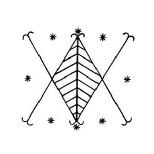 Vudu Simbol Ayizan Veve
