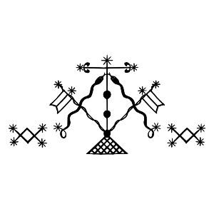 Damballa Veve - Vudu simbol