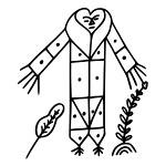 Gran- Bwa Veve - Vudu Simbol
