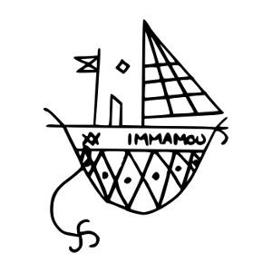 Vudu Simbol Agwe Veve