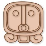 Ahau Majanski simbol sunca-mayan-sun-symbol-75px