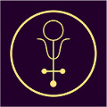 alhemijski simbol za antimon