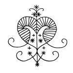 Erzulie Freda Veve - Voodoo Simbol