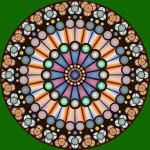 ružin prozor kao alhemijski simbol