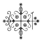 Papa Legba Vudu Simbol